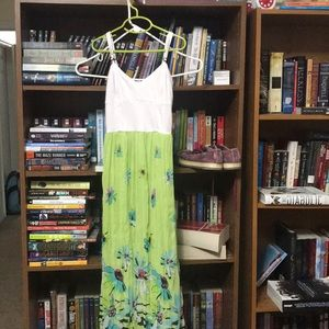 Aeropostale maxi dress. Fully lines XS